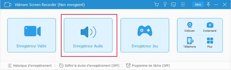 Enregistreur audio