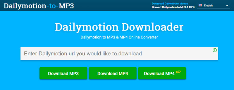 Dailymotion vers MP3 Downloder